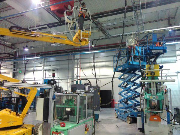 montaza industrijske opreme